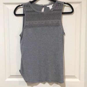 H&M grey tank top. Size small.